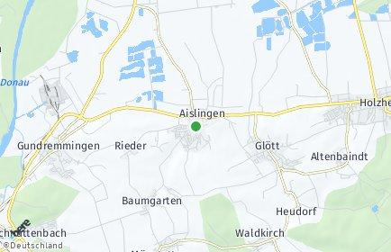 Stadtplan Aislingen
