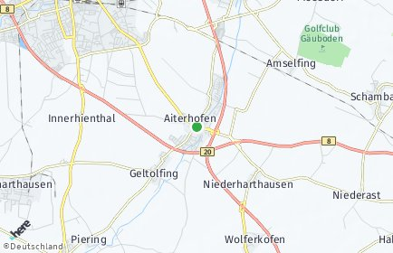 Stadtplan Aiterhofen
