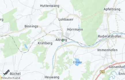 Stadtplan Aitrang