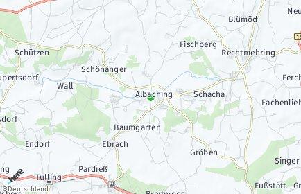 Stadtplan Albaching