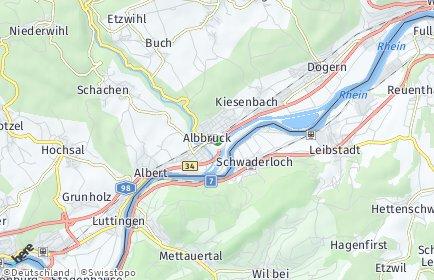 Stadtplan Albbruck