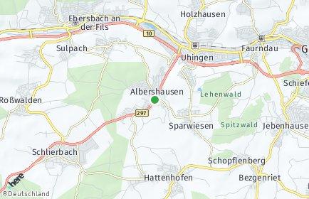 Stadtplan Albershausen