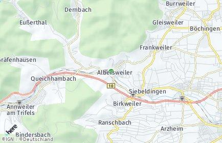 Stadtplan Albersweiler