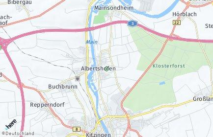 Stadtplan Albertshofen