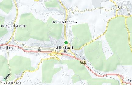 Stadtplan Albstadt OT Ebingen