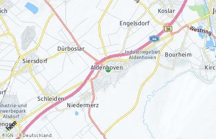 Stadtplan Aldenhoven
