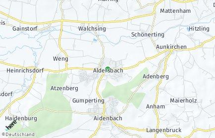 Stadtplan Aldersbach