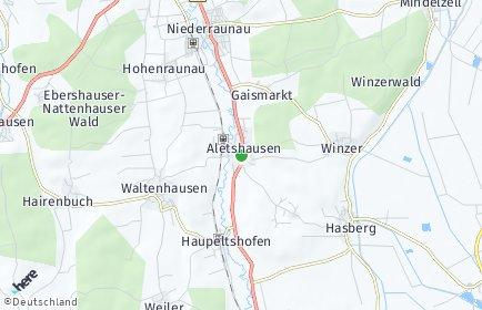 Stadtplan Aletshausen