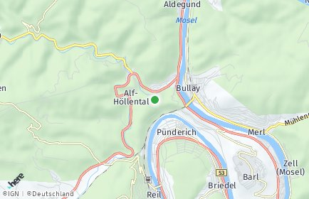 Stadtplan Alf
