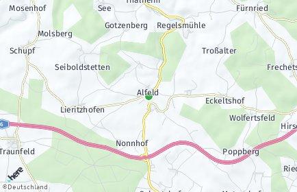 Stadtplan Alfeld (Mittelfranken)