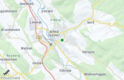 Stadtplan Alfeld (Leine)