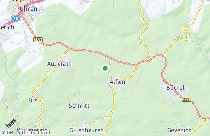 Stadtplan Alflen
