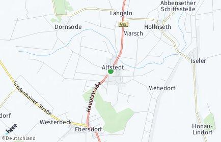 Stadtplan Alfstedt