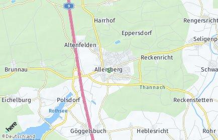 Stadtplan Allersberg