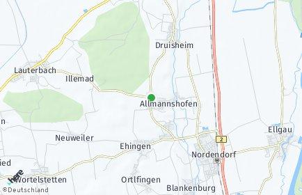 Stadtplan Allmannshofen