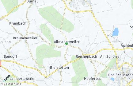 Stadtplan Allmannsweiler