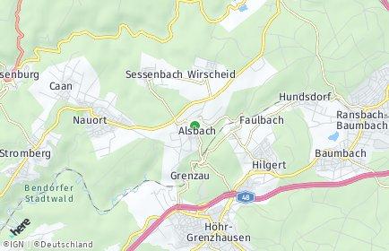Stadtplan Alsbach
