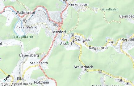 Stadtplan Alsdorf (Westerwald)