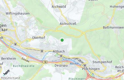 Stadtplan Altbach