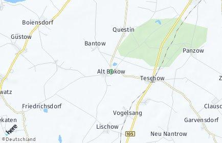 Stadtplan Alt Bukow