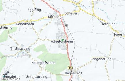 Stadtplan Alteglofsheim
