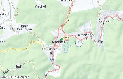 Stadtplan Altenahr