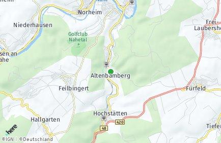 Stadtplan Altenbamberg