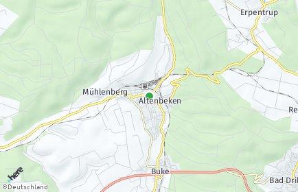 Stadtplan Altenbeken