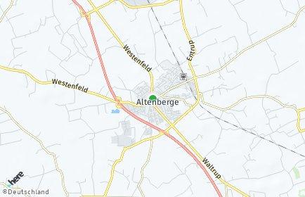 Stadtplan Altenberge