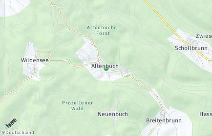 Stadtplan Altenbuch
