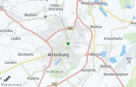 Stadtplan Altenburg