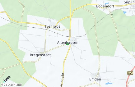 Stadtplan Altenhausen