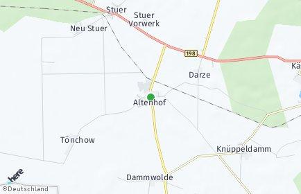 Stadtplan Altenhof (Mecklenburg)