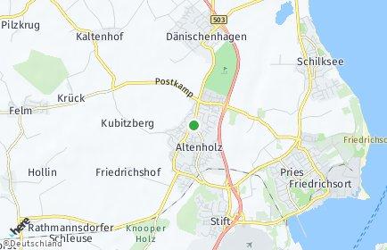 Stadtplan Altenholz