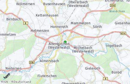 Stadtplan Altenkirchen (Westerwald)