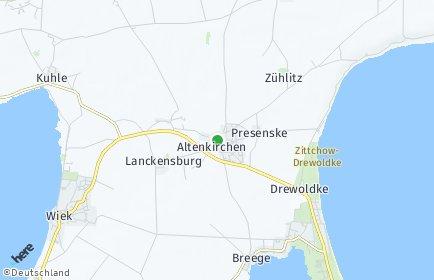 Stadtplan Altenkirchen (Rügen)