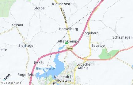 Stadtplan Altenkrempe