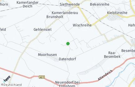 Stadtplan Altenmoor