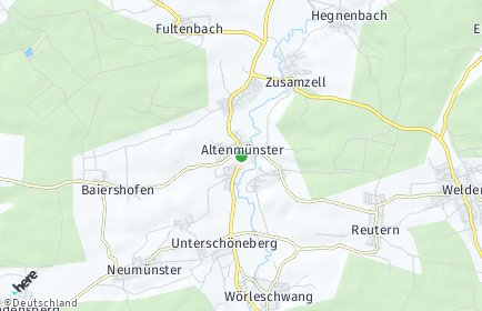 Stadtplan Altenmünster