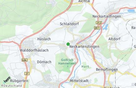 Stadtplan Altenriet