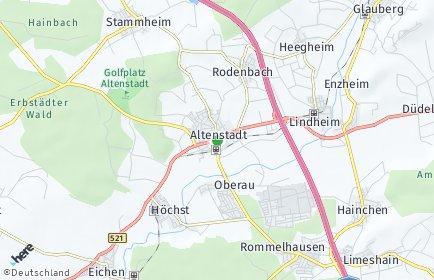Stadtplan Altenstadt