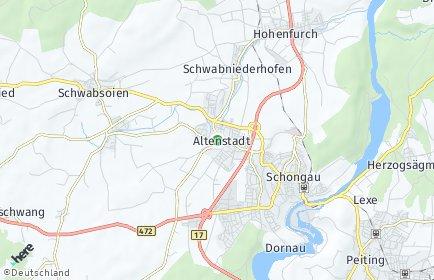 Stadtplan Altenstadt (Oberbayern)