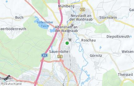 Stadtplan Altenstadt an der Waldnaab