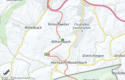 Stadtplan Althornbach