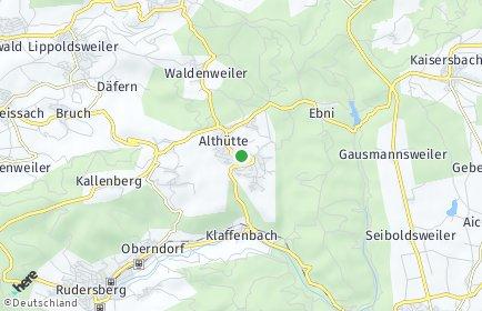 Stadtplan Althütte