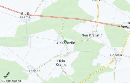 Stadtplan Alt Krenzlin