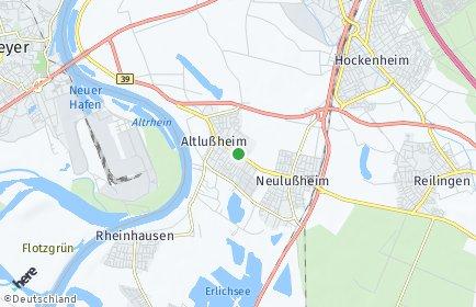 Stadtplan Altlußheim