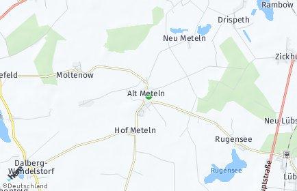 Stadtplan Alt Meteln