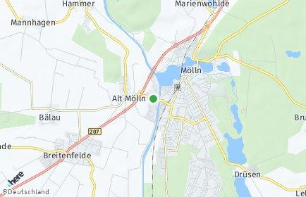 Stadtplan Alt Mölln