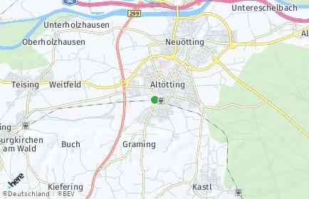 Stadtplan Altötting